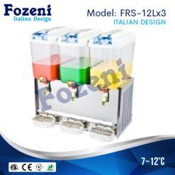 Máy làm mát nước trái cây FRS-12Lx3