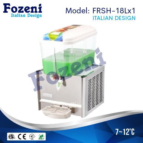 Máy làm mát nước hoa quả FRS-18Lx1