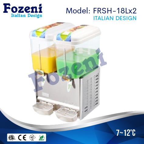Máy làm mát nước trái cây FRS-18Lx2