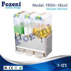 Máy làm mát nước hoa quả FRS-18Lx3