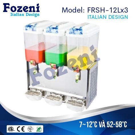 Máy làm mát nước trái cây FRSH-12Lx3