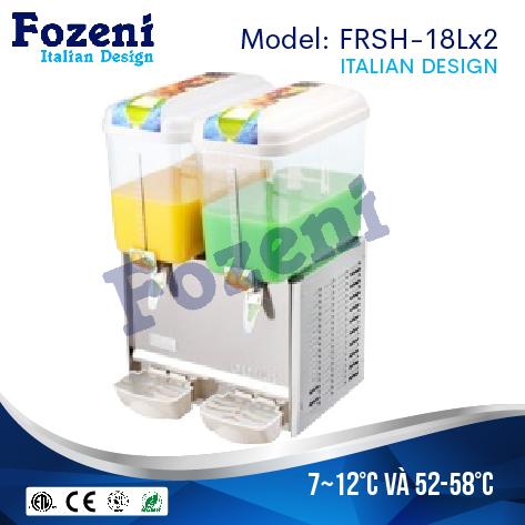Máy làm mát nước hoa quả FRSH-18Lx2 1