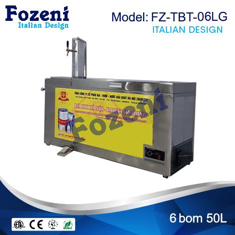 Tủ bảo quản bia có máy trên FZ-TBT-06LG