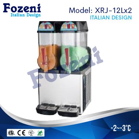Máy làm sệt nước hoa quả XRJ12x2 1